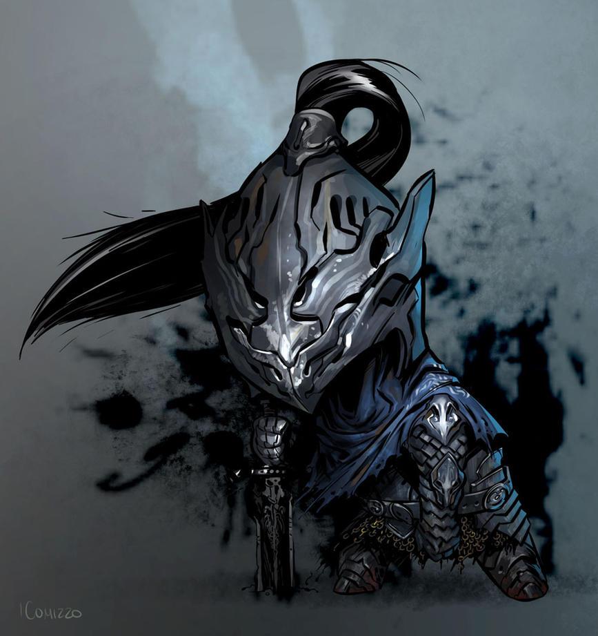 Dark Souls - Artorias the Abysswalker by LucianoC