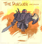 Dark Souls II - The Pursuer