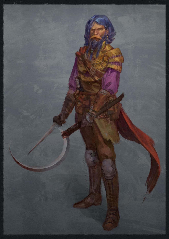 Daario Naharis - Game of Thrones fan art by LucianoC on ... Daario Naharis Fan Art