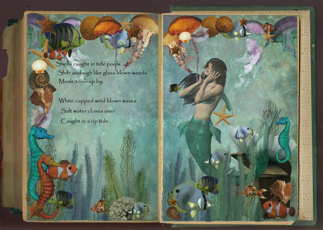 Mermaid's Book by Scarlettletters