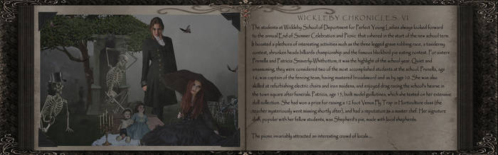 Wickleby Chronicles, Part VI