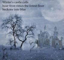 Winter Castle by Poetrymann