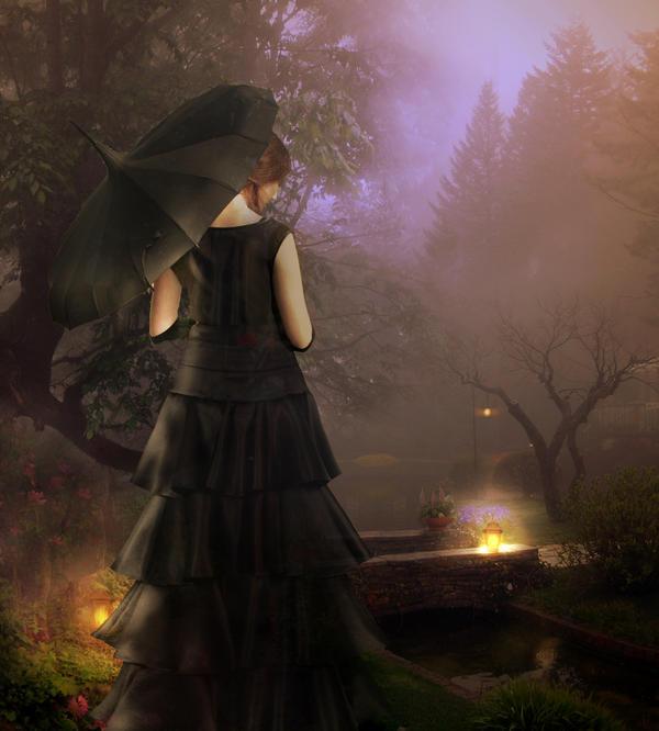 Lady in Black by Scarlettletters