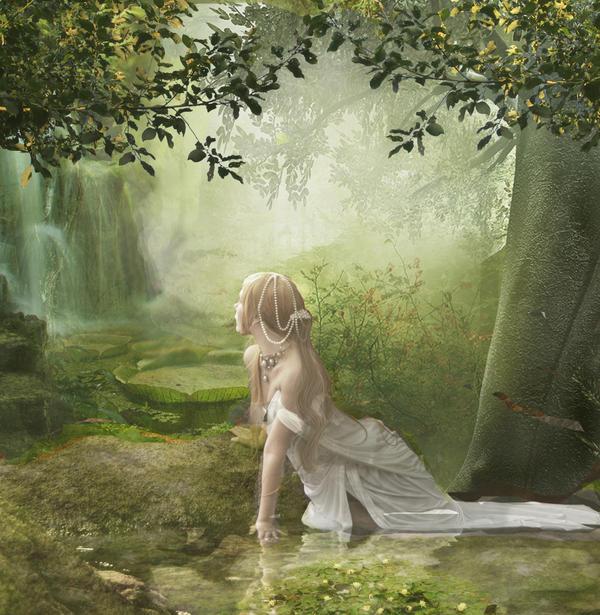 The Pond by Poetrymann