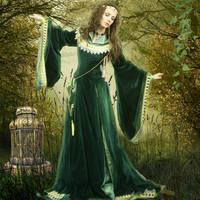 Morgause by Poetrymann