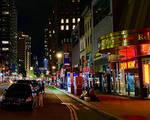 New York Nocturne by Poetrymann