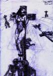 Pilar Rubio Crucificada Piramid 200px by 6206
