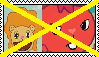 Anti-Disco BearxFlaky Stamp by 4br1l