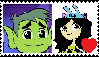 BeastboyXAbril Stamp by 4br1l