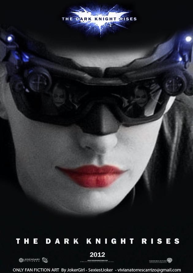 Batman TDKR 2012 / Catwoman X Joker / Poster by SexiestJoker