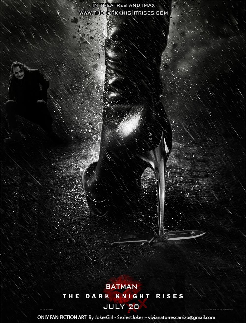 TDKR Catwoman Joker (2) by SexiestJoker