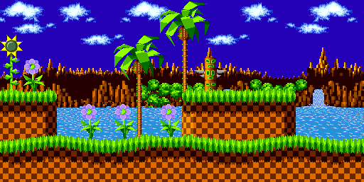 My Creative Sonic Sprite Background 1 By Sonicmechaomega999 On