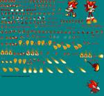 Firen the Hedgehog Sprites