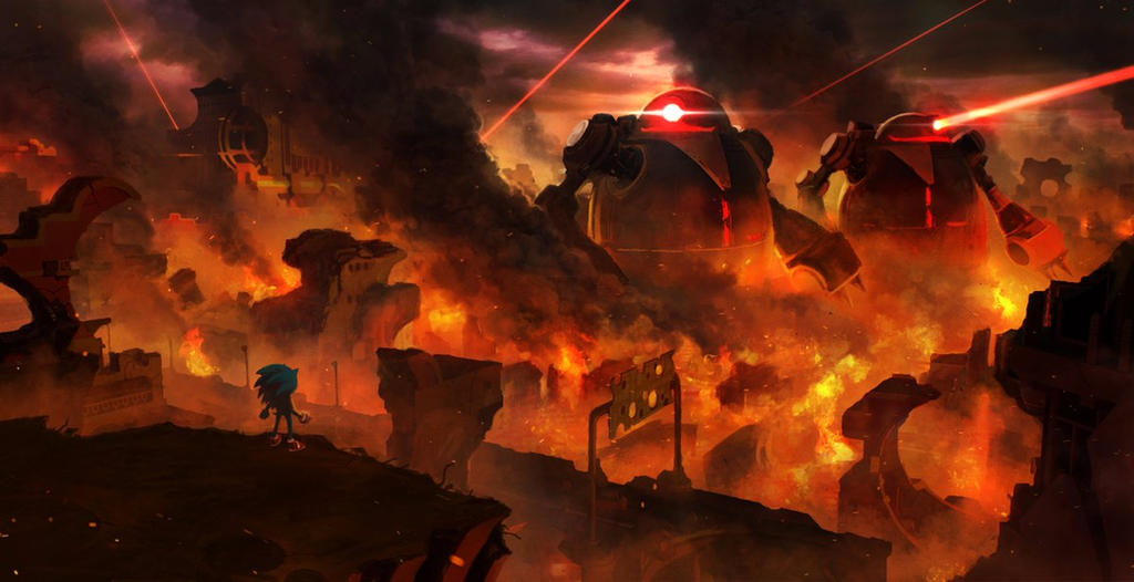 Sonic Forces Concept Art by sonicmechaomega999