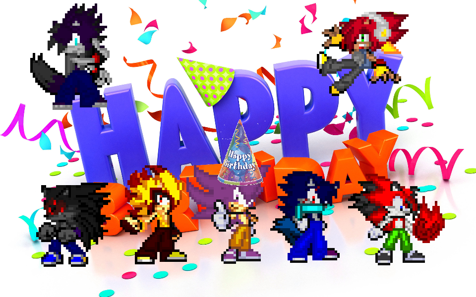 Happy Birthday to Me! by sonicmechaomega999