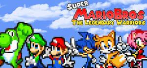 Super Mario Bros the Legendary Warriors Poster