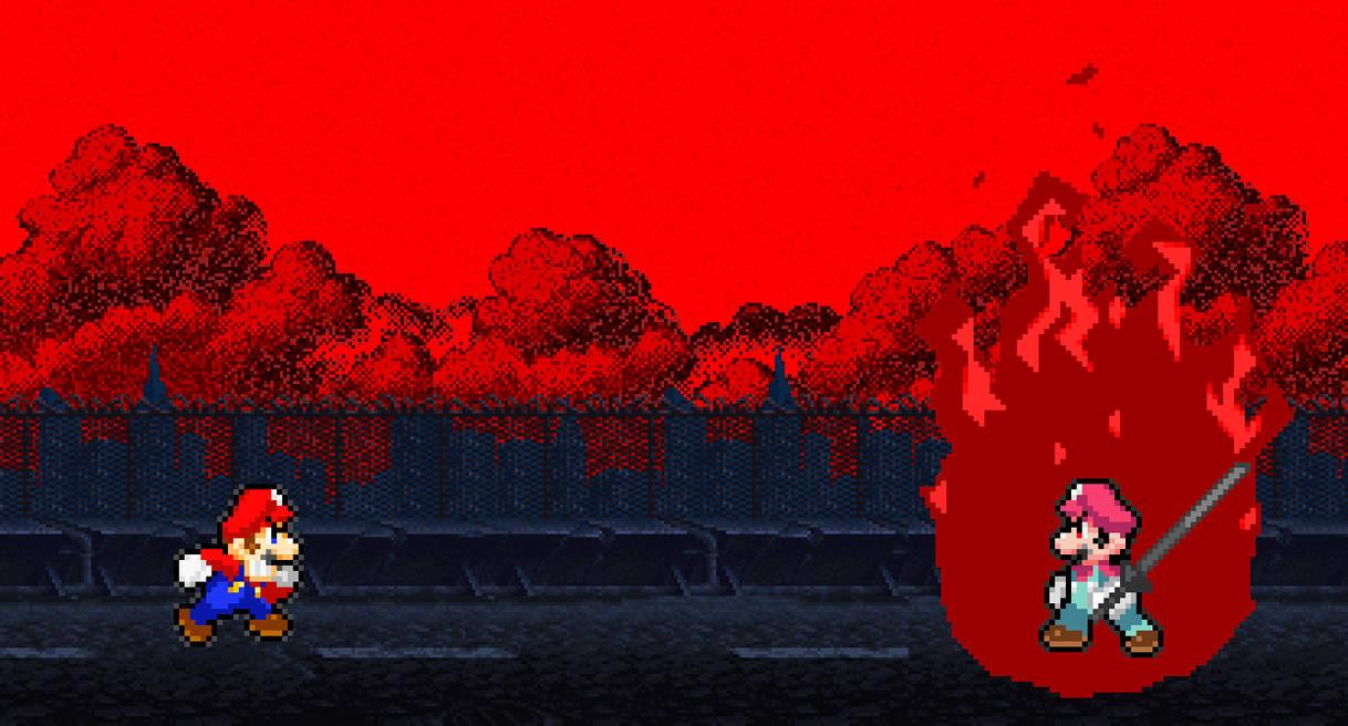 Mario Vs Devil Mario By Sonicmechaomega999 On Deviantart