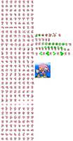 Super Knuckles (kishorn) sprites