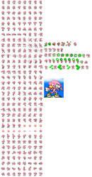 Super Knuckles (kishorn) sprites by sonicmechaomega999