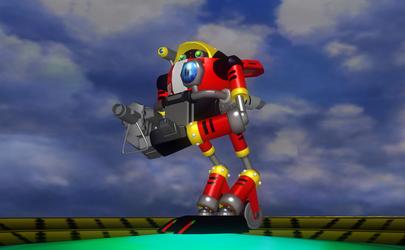 Gamma (A Memerorable Robot)