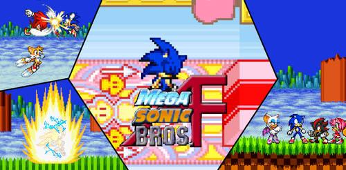 Mega Sonic Bros AF Sonic's Flashback