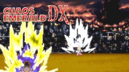 Chaos Emerald dx Hyper sonic vs metallix