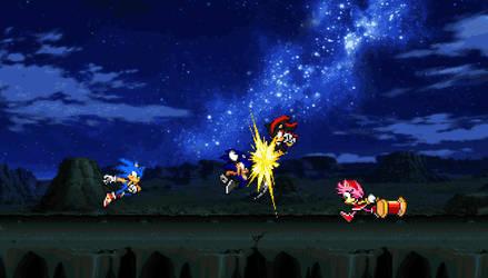Battle Against Sonic Black