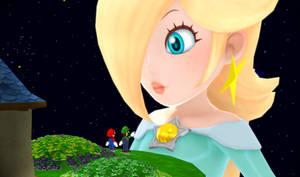 MMD Mario Bros meet Giant Rosalina