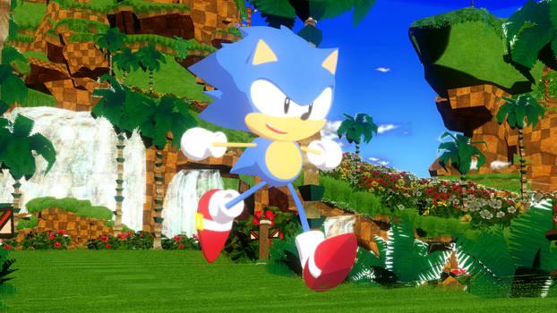 (MMD) Toot Toot Sonic Warrior