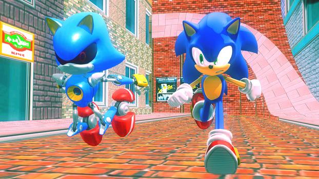 (MMD) Sonic: A Hedgehog Race