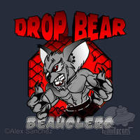MMA DROP BEAR - SILVER