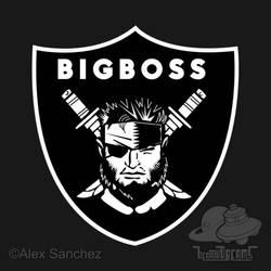 Raiders x Metal Gear Solid - Big Boss (Raiders)