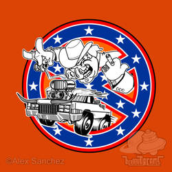 Ghostbusters of Hazzard - Franchise Logo