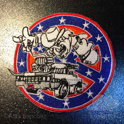 Ghostbusters of Hazzard - Uniform Patch (Full)