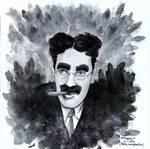 Groucho Marx by Shesvii