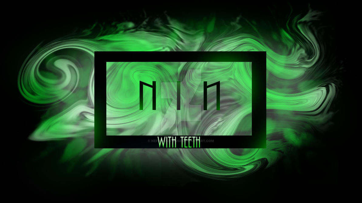 Nine Inch Nails With Teeth album cover art by Nefarious-Muse on ...