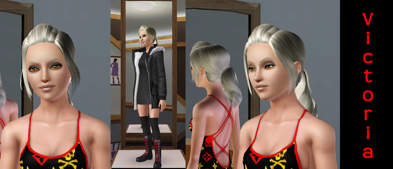 Victoria Wesker Teen Edition by SuperMeja