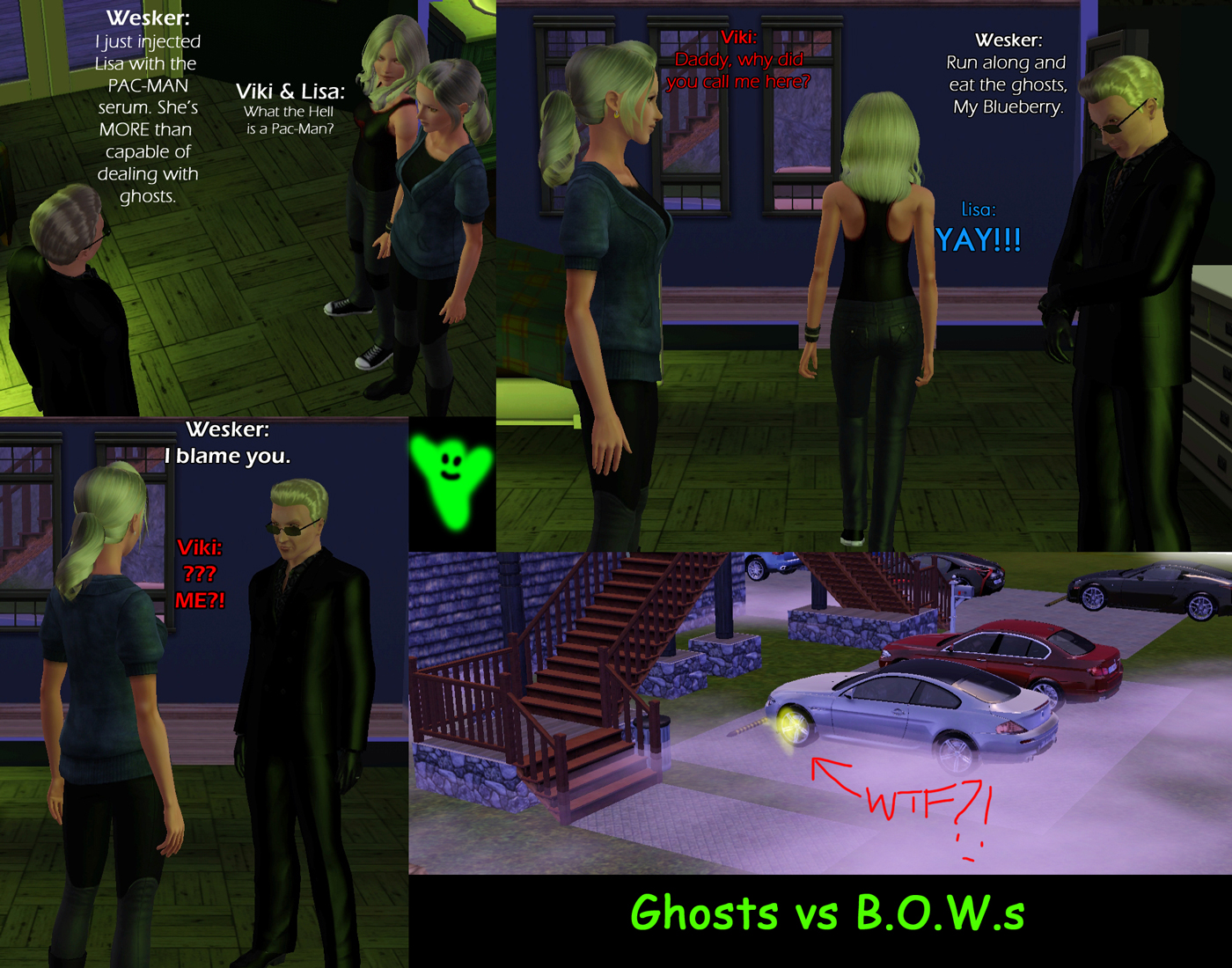 Wesker House POSSESSED by Frigidchick