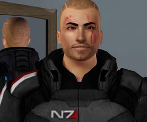Commander Shepard DESTROY edition by Frigidchick