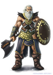 Viking Character design by RogierB