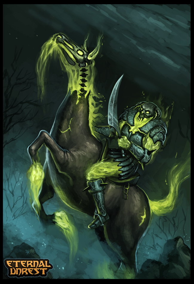 The Risen Horseman by RogierB