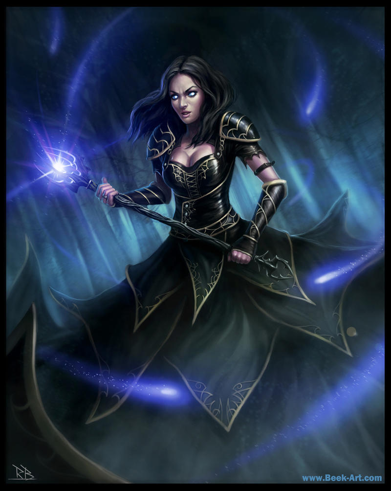 She wizard by RogierB