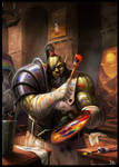 Painting Orc