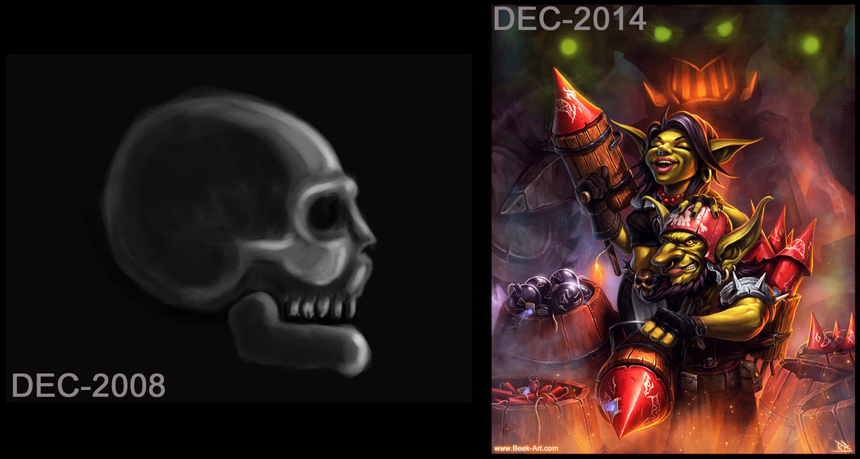 6 year comparison by RogierB