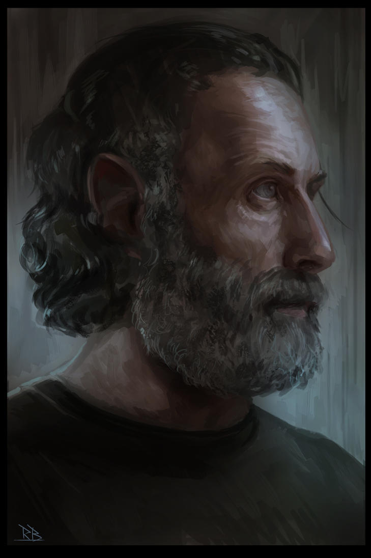 Rick Grimes - Walking Dead by RogierB
