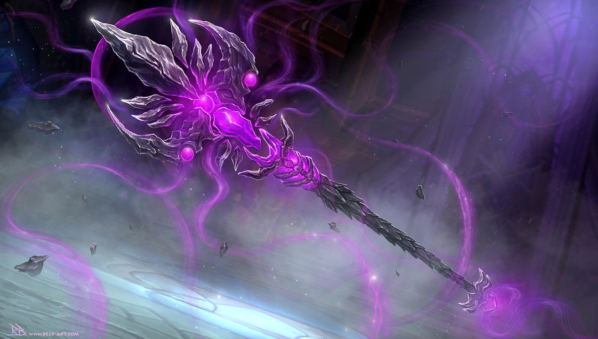 Shadow Priest Artifact Weapon By RogierB On DeviantArt