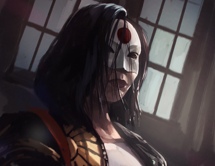 Katana - Suicide Squad - Speedpaint by RogierB http://fav.me/daf3vdf