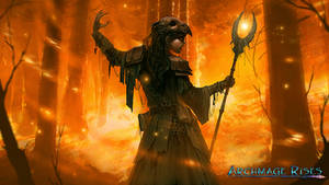 Song of Fire - Archmage Rises by RogierB