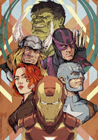 Avengers Assemble by RogierB