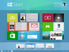 Modern UI [FINAL] My Last Concept Windows 9 by danielskrzypon